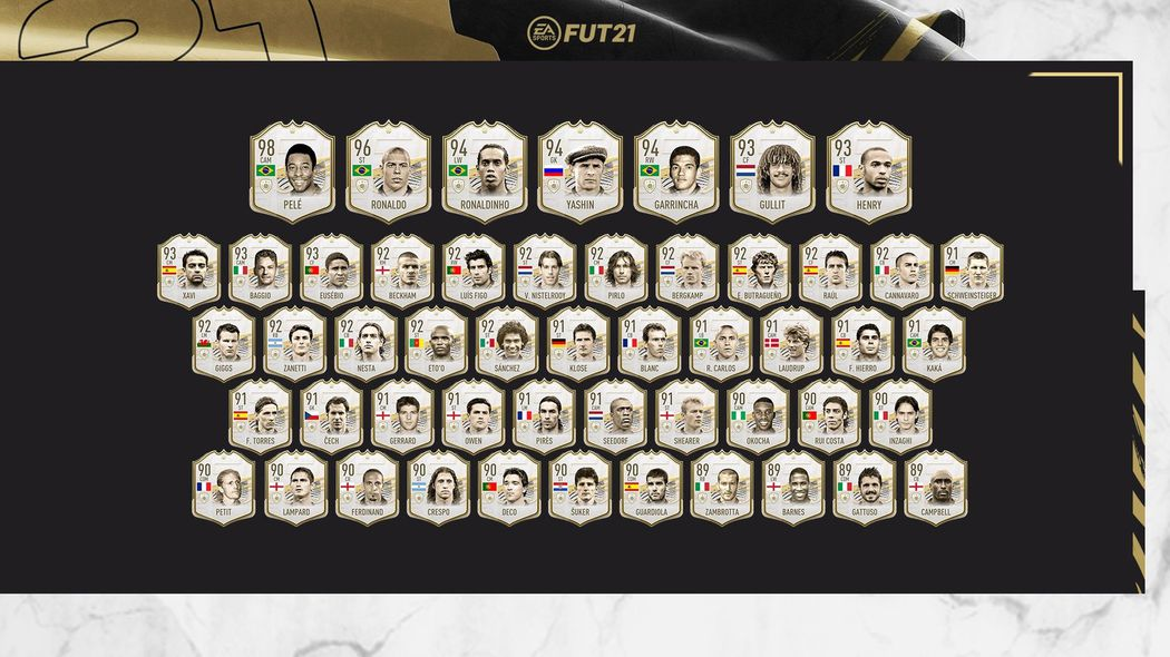 Do FIFY přišel Prime Icon Pack •Foto: EA Sports