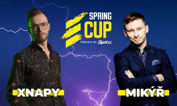Páteční stream Spring Cupu i se speciálním hostem, Xnapyho komentář doplní Mikýř!