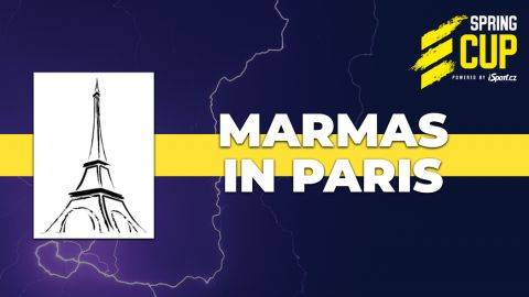 Marmas in Paris, černý kůň Spring Cupu •Foto: eleague.cz