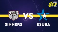 SOUHRN: Esuba po dvou zápasech pouhý bod, Sinners mají postup jistý