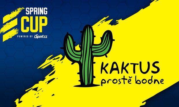 Kaktus se stává oficiálním partnerem turnaje Spring Cup v League of Legends