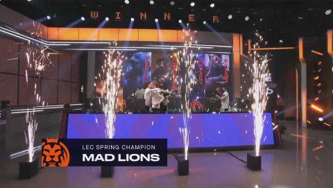 Rogue nestačili na MAD Lions •Foto: twitch.tv/lec