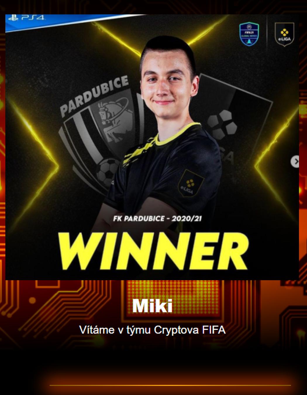 Miki má po konci v Sampi nový tým, bude součástí organizace Cryptova