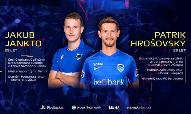 Jankto vs. Hrošovský! Showmatch fotbalových reprezentantů ve FIFA 21