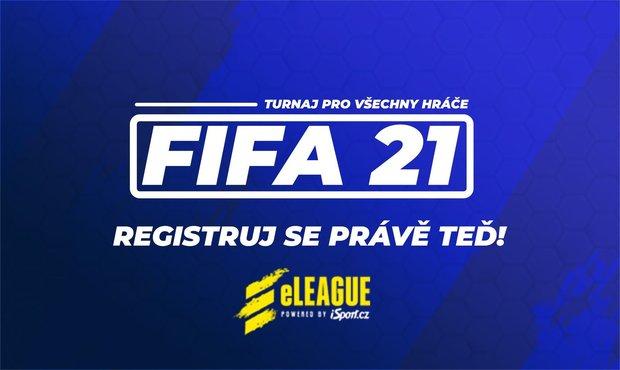 FIFA turnaj pro všechny hráče! Připrav svůj mančaft a registruj se do eLEAGUE