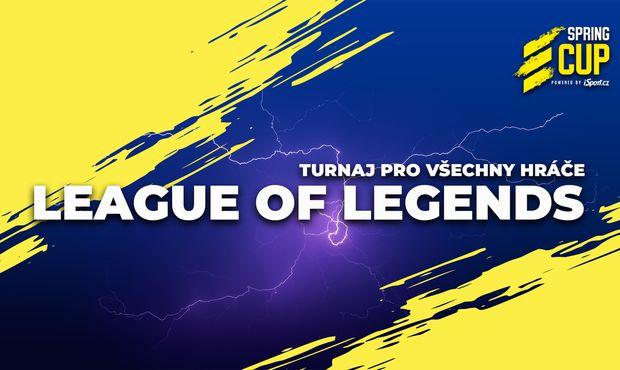 Spring Cup v League of Legends: Top 16 včetně eSuby a Sinners již 29. dubna