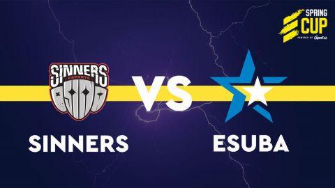 Sinners vs. eSuba •Foto: Spring Cup