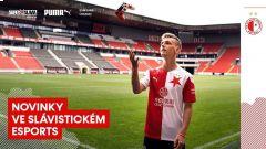 Kubajz reprezentuje Slavii ve FIFA 21 •Foto: Slavia Esports