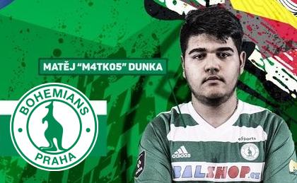 Matejs Dunka v posledních týdnech řádí •Foto: Koláž sazkaeleague.cz, Bohemians esports