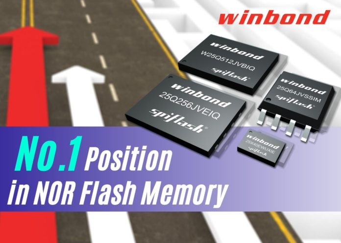 Winbond #1 NOR Flash