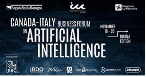 business forum Canada Italia AI