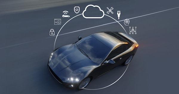 NXP Amazon auto connessa