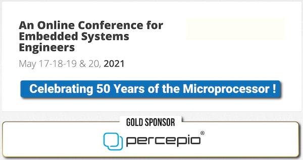 02-21 Percepio Embedded Online Conference-Celebrating 50 Years