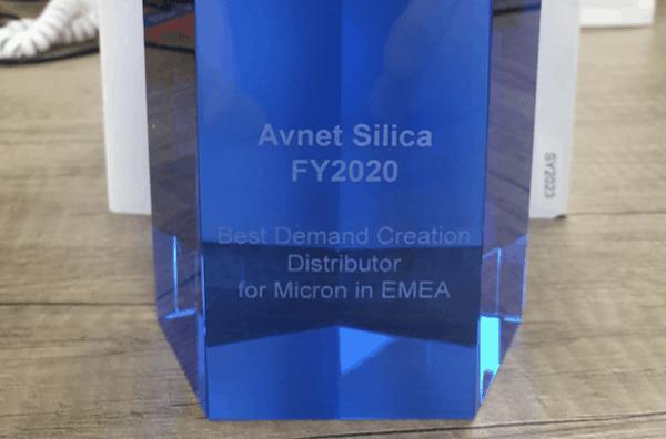 Avnet Silica premio Micron