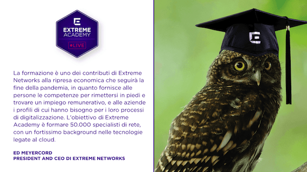 Extreme Networks Academy Meyercord