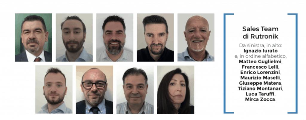 rutronik sales team Bologna