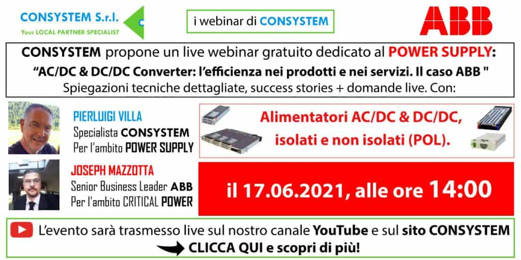 Consystem Abb 17 giugno