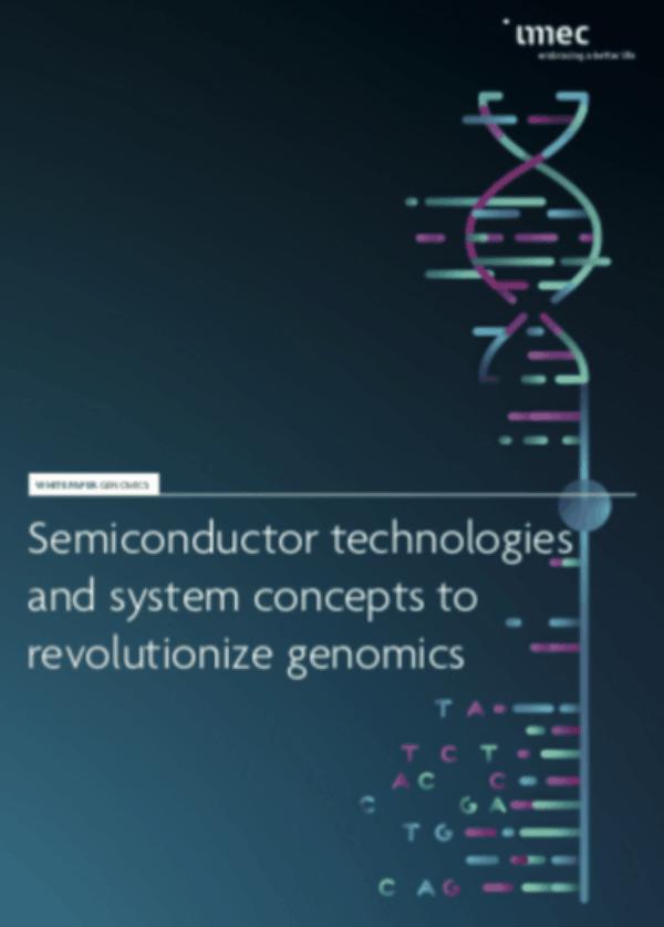white paper imec Genomica e semiconduttori