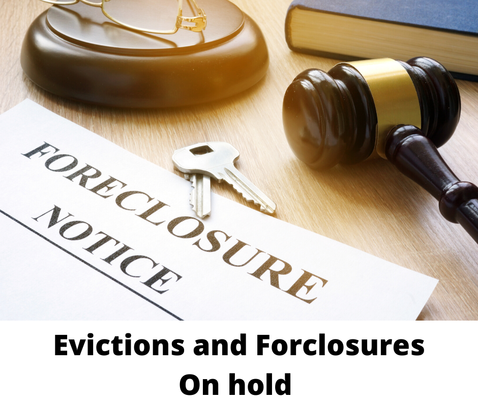 Forclosures and Evictions