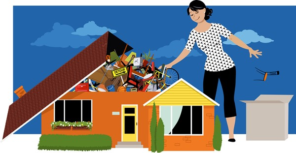 De-Cluttering your Home