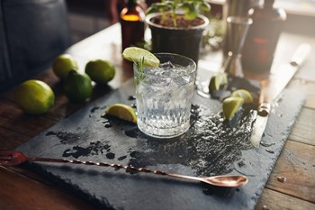 How To Create A Stylish Bar Cart Arrangement