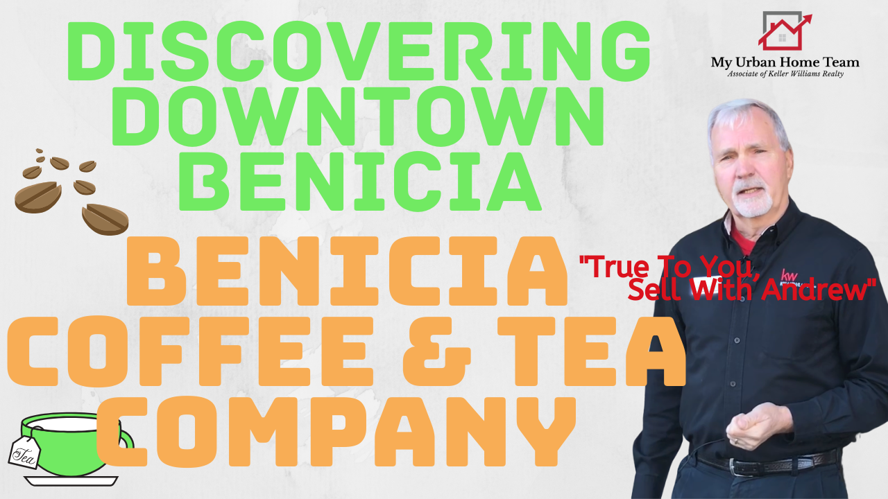 Discovering Downtown Benicia at Benicia Coffee & Tea Company With My Urban Home Team