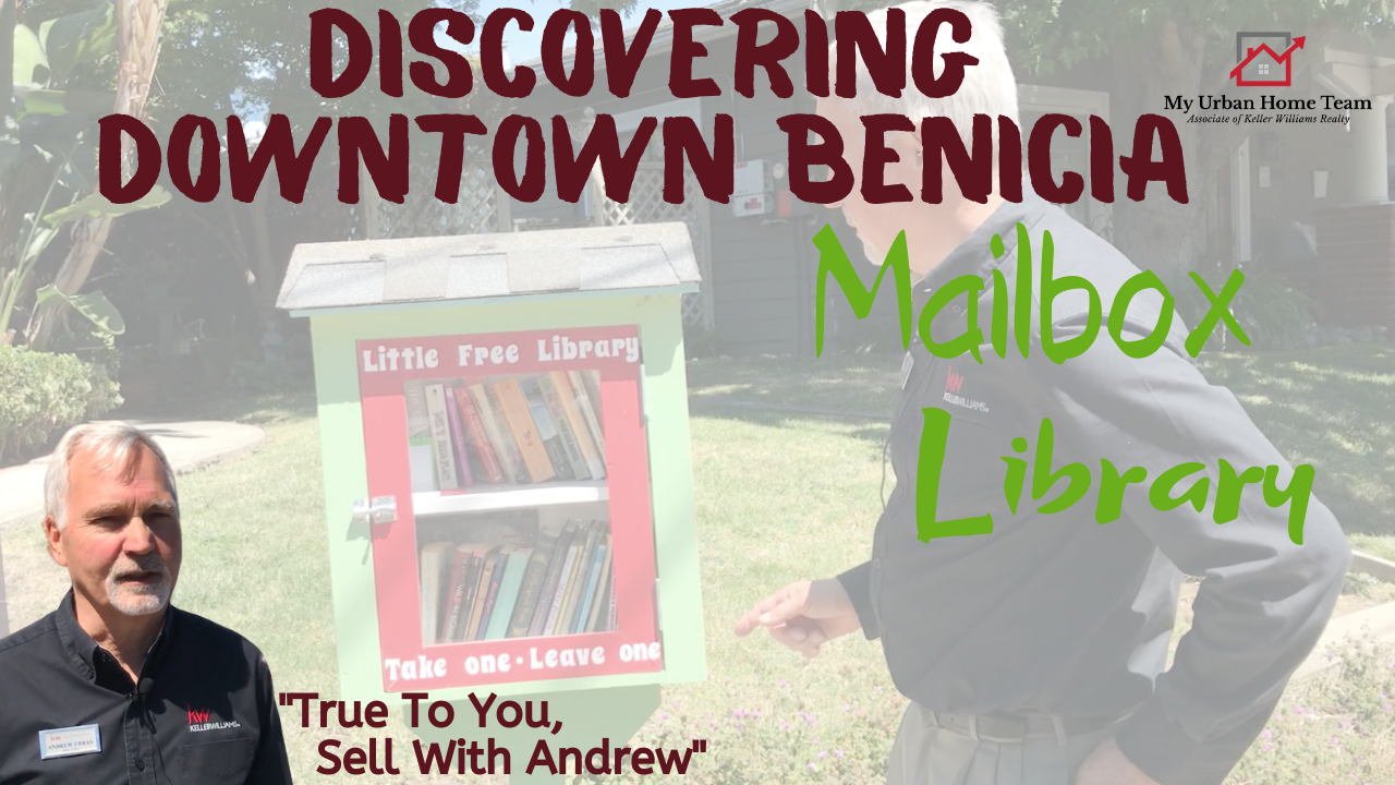 Discovering Downtown Benicia: Mailbox Library