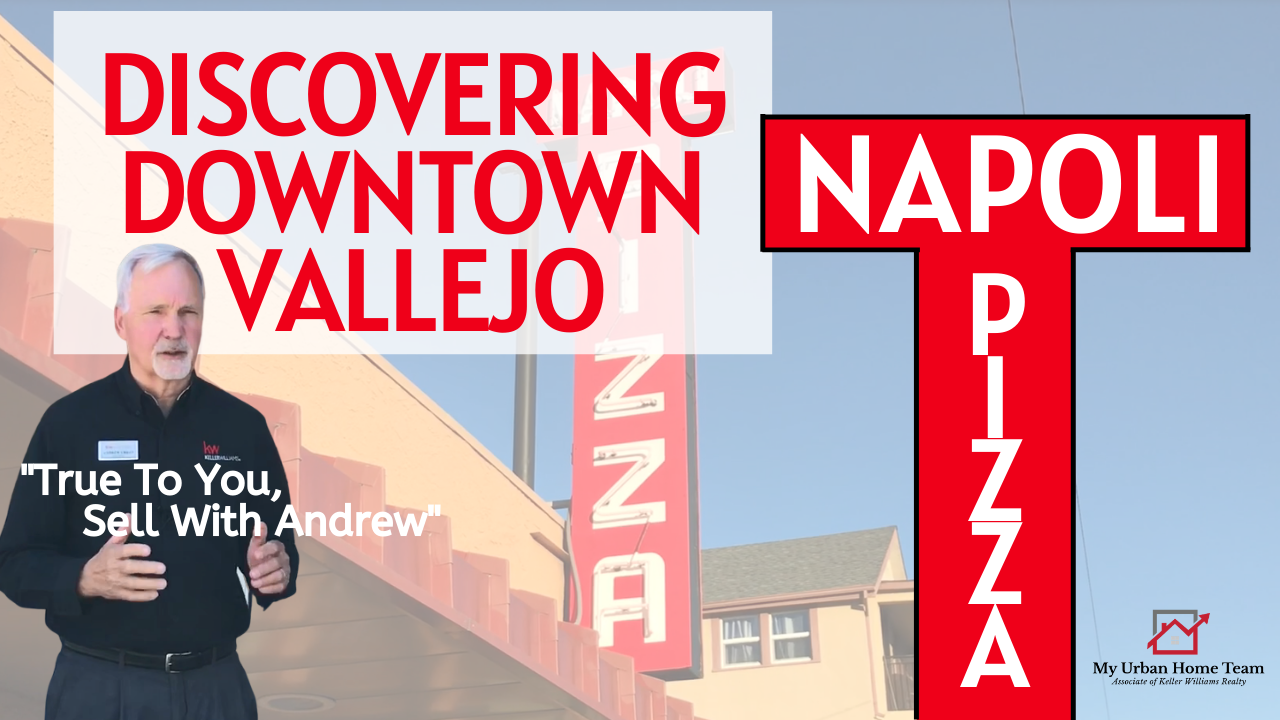 Discovering Downtown Vallejo 's Napoli's Pizza With My Urban Home Team