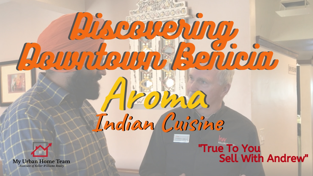 Discovering Downtown Benicia with Andrew Urban as he interviews with Aroma