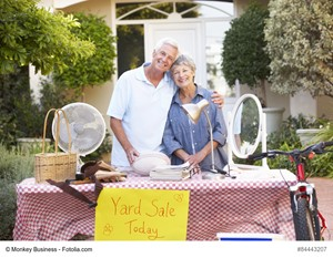 Host a Yard Sale Before You Buy a Home