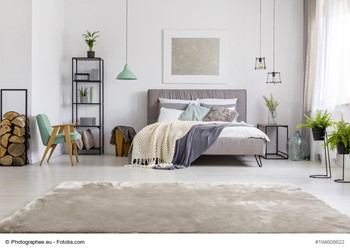 Create An Upscale Bedroom On A Budget