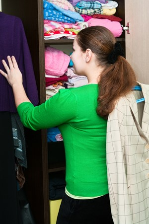 Tackling House Clutter Begins With Closets