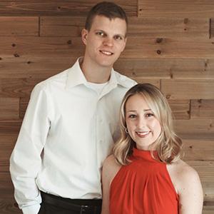 Brooke Packard and  Brendan Coughlin
