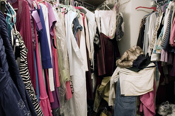 That Messy Closet—What To Do.