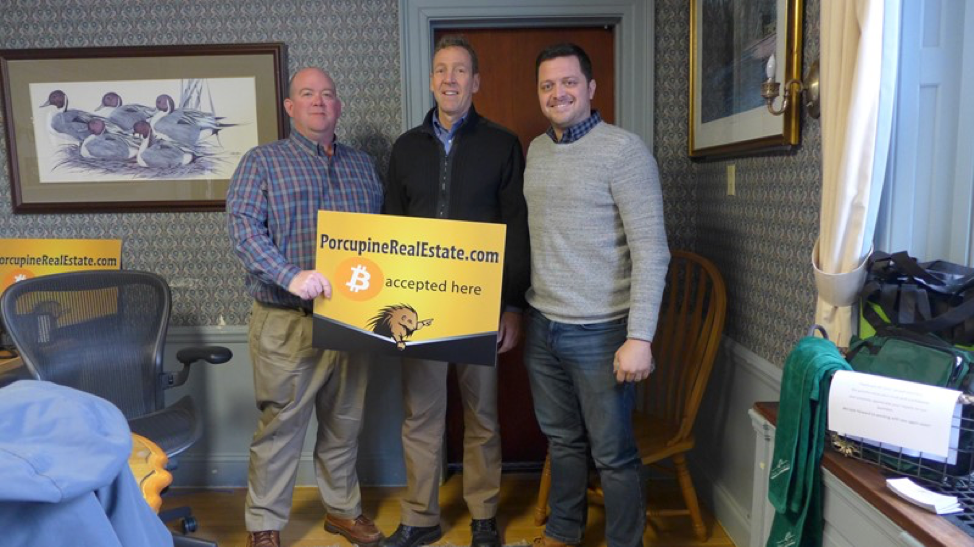 Porcupine Real Estate Completes First Bitcoin-Only Transaction in New Hampshire