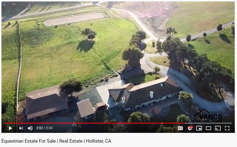 Equestrian Estate For Sale | Real Estate | Hollister, CA