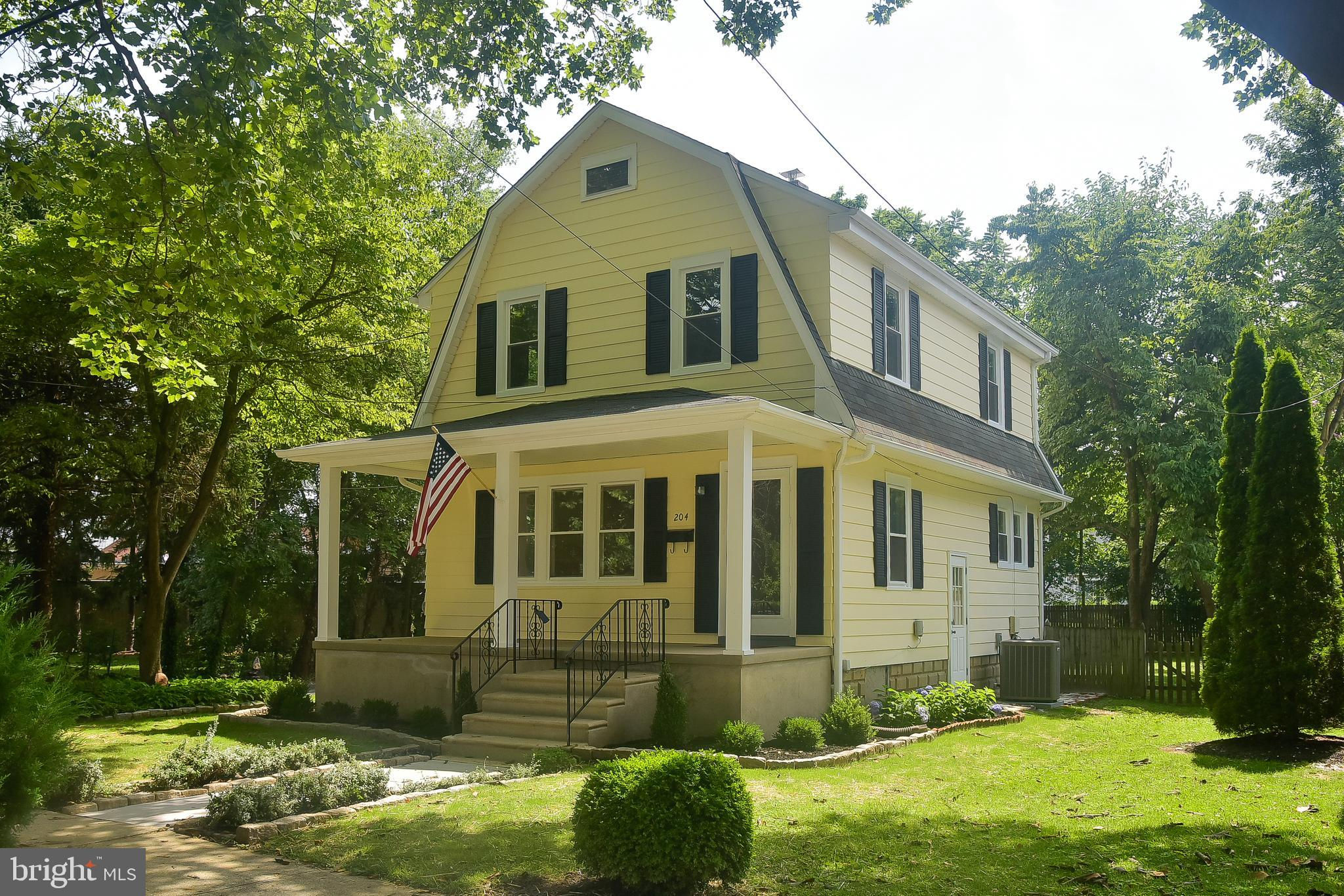 204 Breslin Avenue, Haddon Township, NJ 08033 is now new to the market!