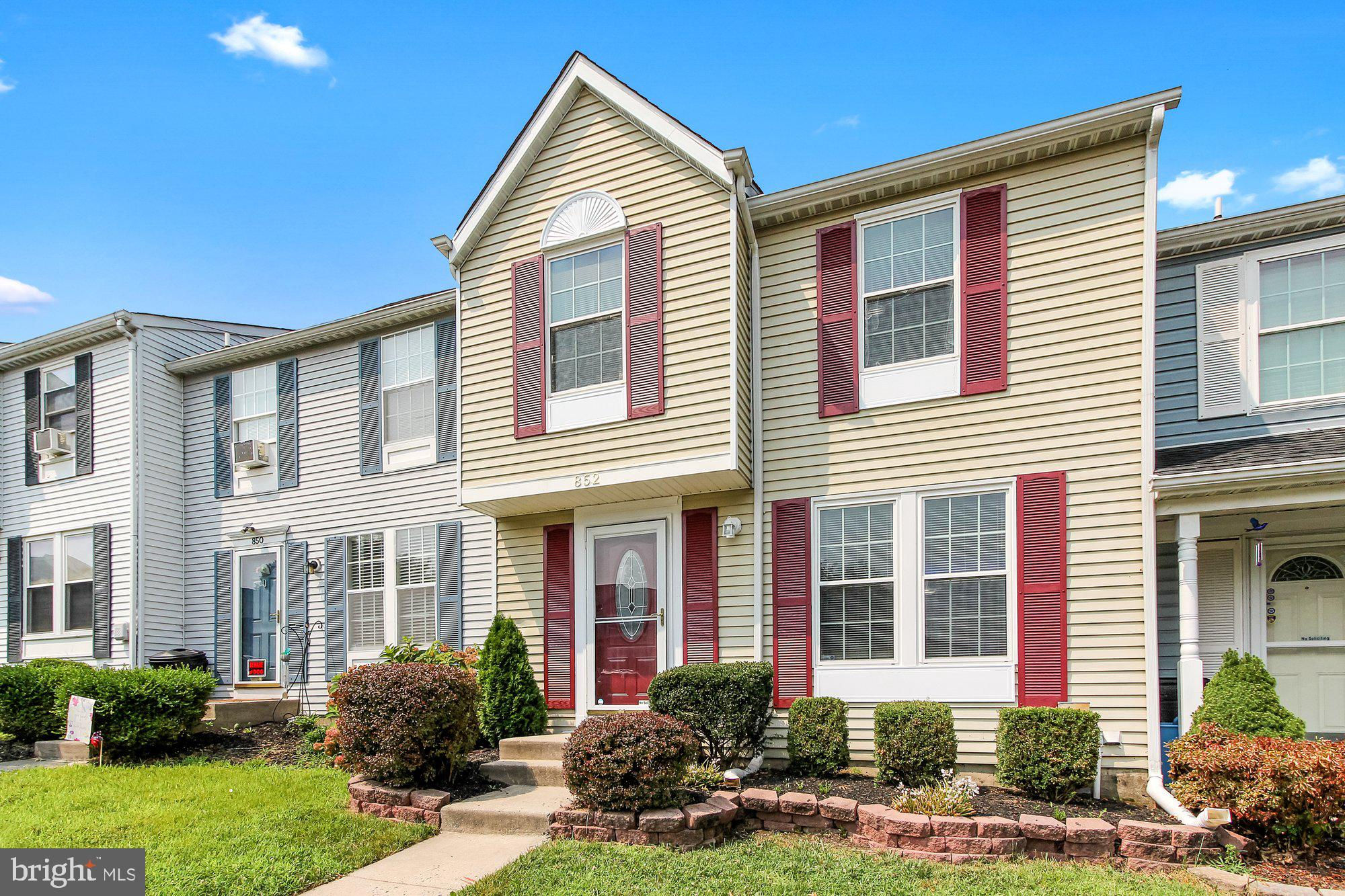 852 Angel Valley Court, Edgewood, MD 21040 is now new to the market!