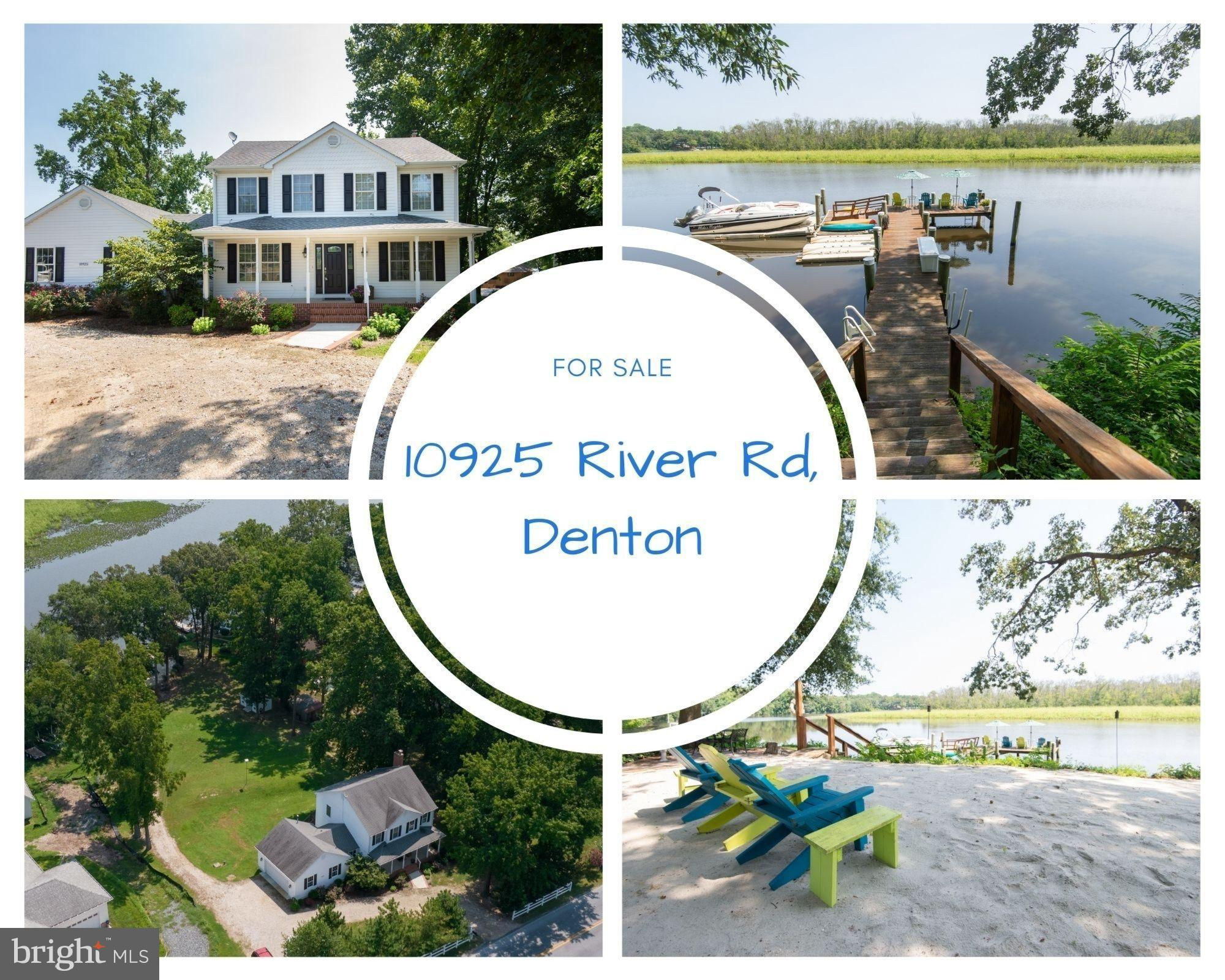 10925 River Road, Denton, MD 21629 now has a new price of $724,000!