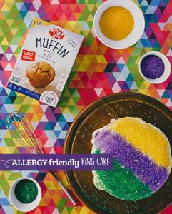 Mardi Gras Allergy-Friendly King Cake Recipe | Enjoy Life Foods