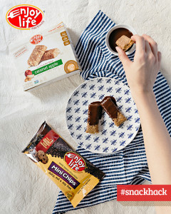 Chocolate-Dipped Chewy Bars - Caramel Apple Chewy Bars | Enjoy Life Foods