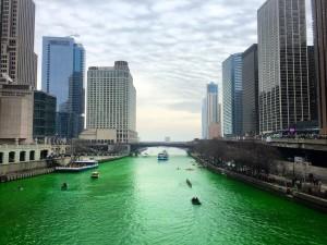Chicago River Dyed Green - Leprechaun Mint Ice Cream Parfait | Enjoy Life Foods