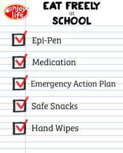 Lunch Freely School Checklist