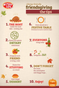 Friendsgiving Tips Infographic