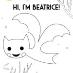 Beatrice character printable coloring sheet