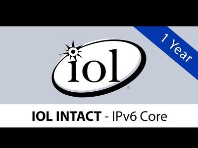 IOL INTACT® - IPv6 Core (1 Year)
