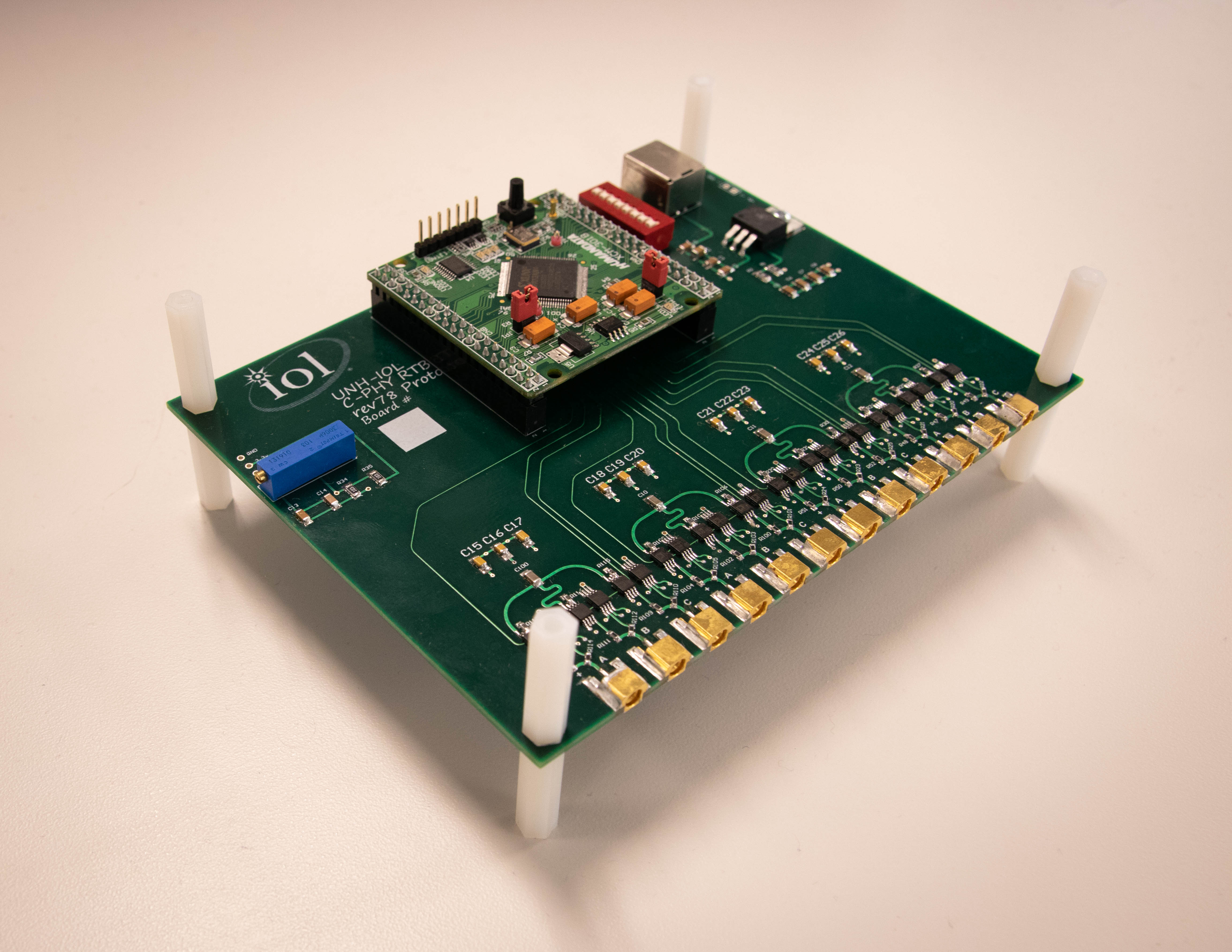 MIPI D-PHY Reference Termination Board (RTB)