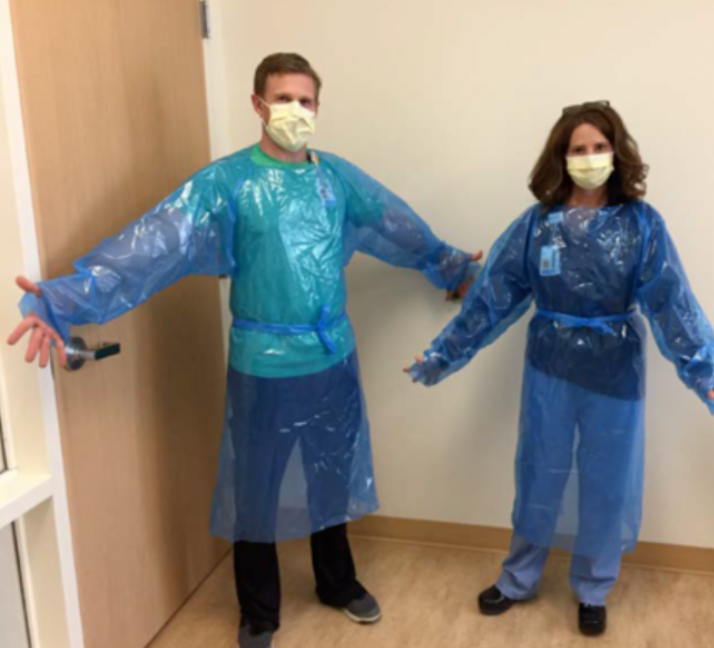A Gown for U Project - level 1 isolation gown for emergency use