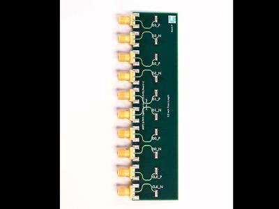 MIPI D-PHY Capacitive Load (CLOAD) Fixture