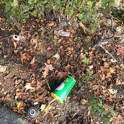 Trash near 2323 Boundary Road, Vancouver